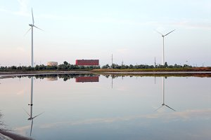 wind-mill electric generating plant