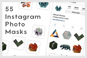 55 Instagram Photo Masks