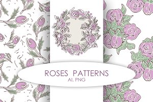 Roses Pattern Bundle
