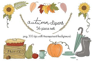 Autumn/ Fall Clipart set