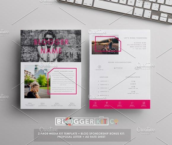 press pack template - media kit sponsorship set 4 pgs resume templates on