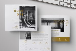 Blog Media Kit + Sponsorship | 5 Pgs