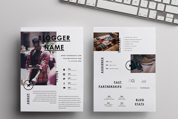 Media Kit + Sponsorship Set | 4 Pgs