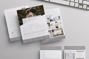 Blog Media Kit + Sponsorship | 5 Pgs