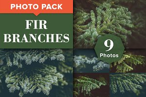 Fir Branches - Christmas Photo Pack