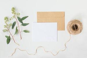 Natural Card Mockup
