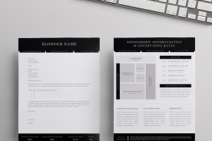 Blog Sponsorship Letter + Ad Sheet