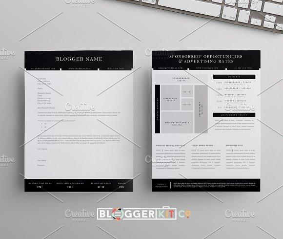 Blog Sponsorship Letter Ad Sheet Resume Templates on Creative – Sponsorship Sheet Template