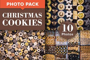 Christmas Cookies - Photo Bundle