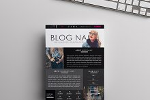 Blog Media Kit Template | One-Page