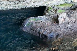 Small cave paddle, Crimea