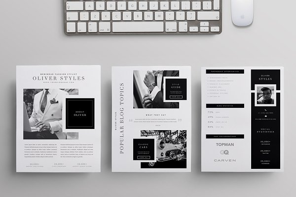 stationery templates blogger kit co