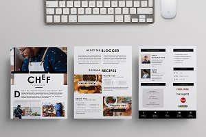 Chef - 3PG Media Kit Template