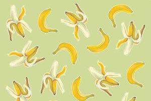 banana, banana peel, logo banana