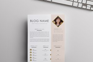 Blog Media Kit Template (MS Word)