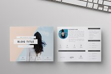 """Two-Page Media Kit - """"Live Freely"""""""