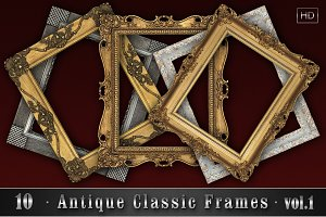 10 Antique Classic Frames vol.1
