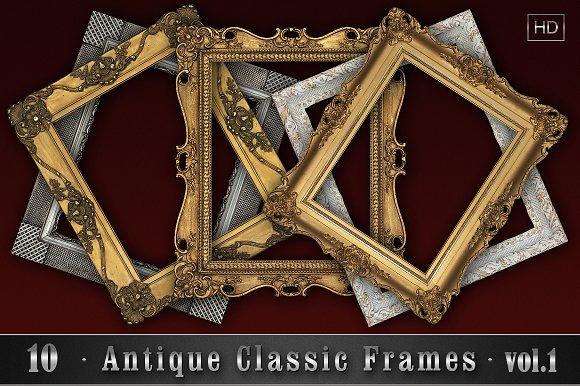10 Antique Classic Frames vol.1