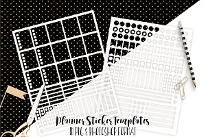 Planner Sticker Templates Photoshop