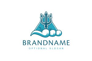 Trident of Titans Logo