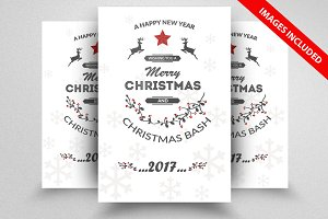 Christmas Discount Flyer Template