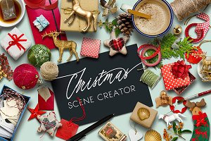 Scene Creator-Christmas PSD