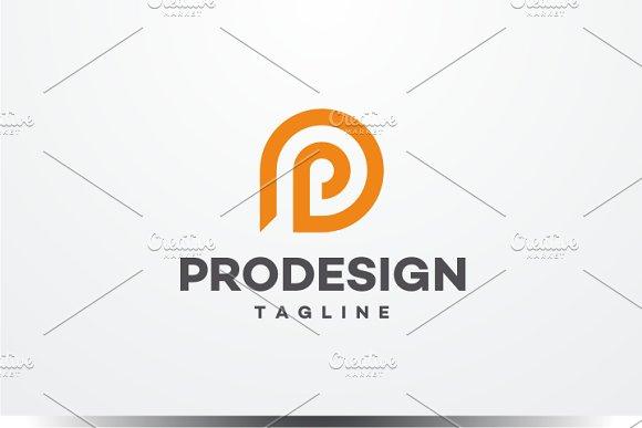 Pro Design - Letter P Logo