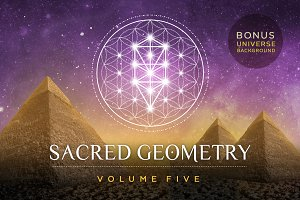 Sacred Geometry Vector Set Vol. 5