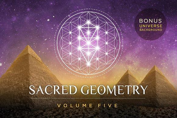 Sacred Geometry Vector Set Vol. 5 - Illustrations