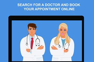 online appointment, physician