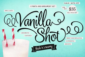 Vanilla Shot (40% off!)