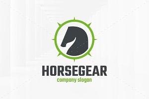 Horse Gear Logo Template