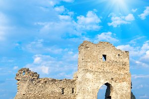Kremenets medieval fortress ruins