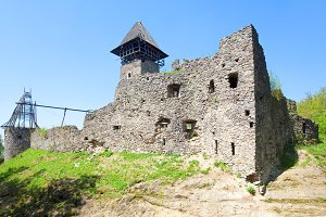 Nevytsky medieval fortress ruins