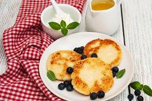 Cottage cheese pancake