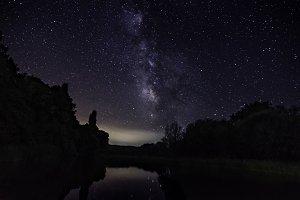 Milky way Tiétar