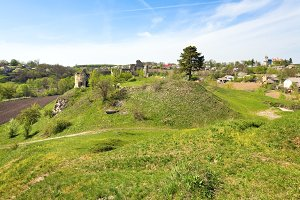 Sydoriv medieval fortress ruins