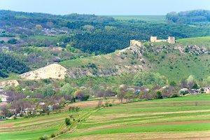 medieval fortress ruins, Ukraine