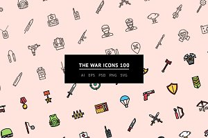 The War Icons 100