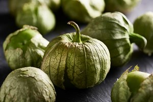 pile of tomatillos