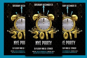 Happy 2017 NYE Party Flyer