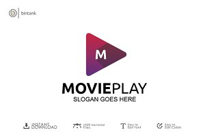 Movie Play Logo