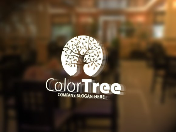 Color Tree Logo in Logo Templates - product preview 2