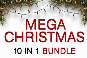 Mega Christmas & NYE Flyer Bundle