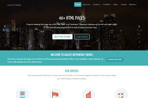Flato Corporate & Business Theme