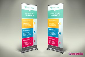 Business Roll Up Banner - v023