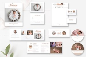 Newborn Photography Marketing Set