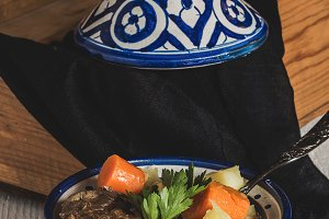 tagine cooked beef