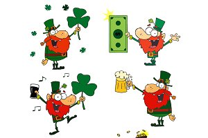 Happy Leprechauns. Collection