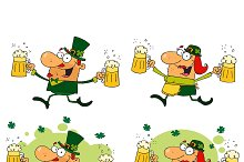 Funny Leprechauns. Collection